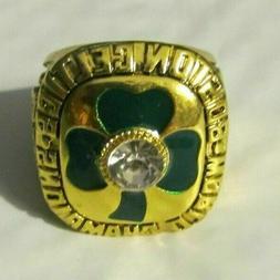 1984 BOSTON CELTICS NBA Championship Ring LARRY BIRD 18k HEA