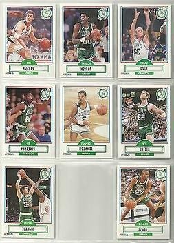 1990-91 Fleer 8-card Boston Celtics Team Set   Larry Bird  K
