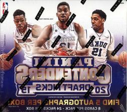 2015 16 draft basketball hobby box 24