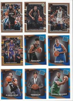 2017-18 PANINI DONRUSS NBA  - STARS, RATED ROOKIES RC'S - WH