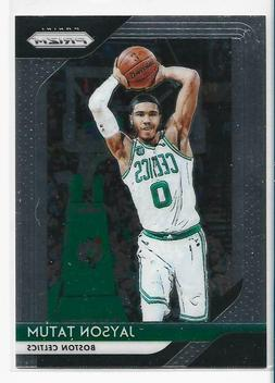 2018-19 Panini Prizm JAYSON TATUM Lot        BOSTON CELTICS