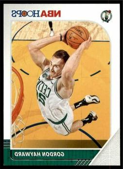 2019-20 Panini NBA Hoops Base #9 Gordon Hayward - Boston Cel