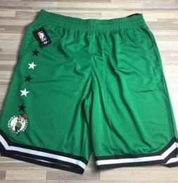 $40 UNK Boston Celtics Men's Size XL Black/Green Stars Bas