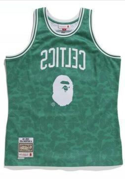 A BATHING APE Bape x Mitchell & Ness Boston Celtics AUTHENTI