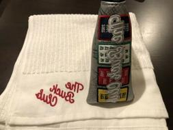 THE BUCK CLUB Boston Banner BLADE Golf Putter Cover + TBC TO