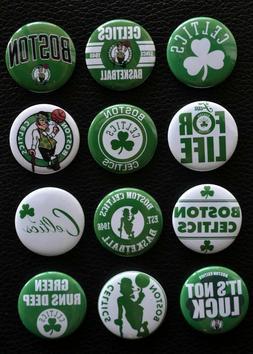 "Boston Celtics  - 1 1/2"" Inch Magnet Set  -"