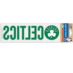 BOSTON CELTICS ~  3x12 Self Adhesive NBA Team Logo Bumper St