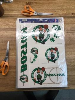 "Boston Celtics 11"" x 15.5"" ULTRA DECALS TEAM SHEET - Wincraf"