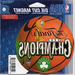 Boston Celtics 2008 NBA Champions Souvenir Die-Cut Magnet