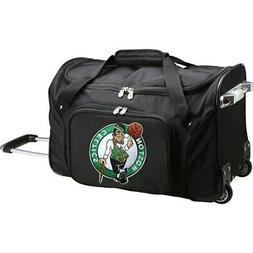 "Boston Celtics 22"" 2-Wheeled Duffel Bag - Black"