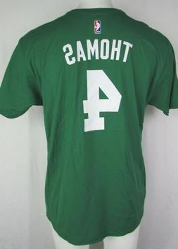 Boston Celtics #4 Isaiah Thomas Green Short Sleeve adidas Go