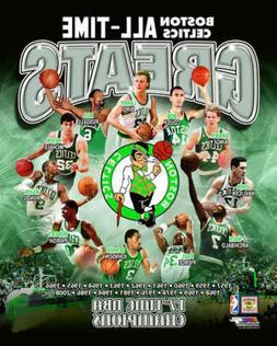 Boston Celtics ALL-TIME GREATS 11 Legends, 17 Championships