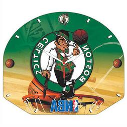 Boston Celtics Backboard Wall Clock
