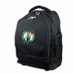 BOSTON CELTICS Backpack, Hidden WHEELED luggage conversion.