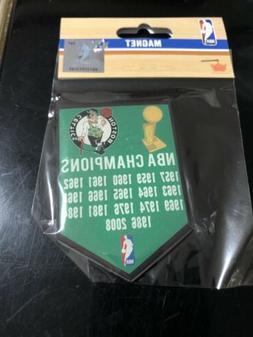Boston Celtics Banner Magnet NBA