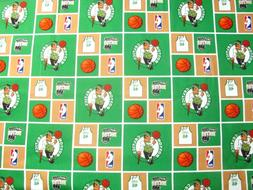 "Boston Celtics Basketball NBA Jersey 46 Hoops Logos on 16"" x"