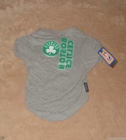 Boston Celtics Basketball Pet Dog T-Shirt Size Large New wit