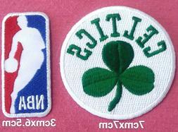 Boston Celtics Basketball set2pcs patch sport Embroidery iro