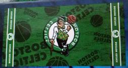 BOSTON CELTICS BEACH/BATH TOWEL~NEW~NBA GEAR