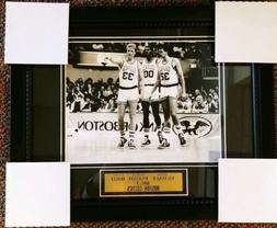 Boston Celtics Big 3 Bird Parish McHale 11x14 Framed Wall Pi