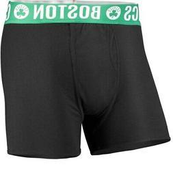 Concepts Sport Boston Celtics Black Boxer Brief with Sublima