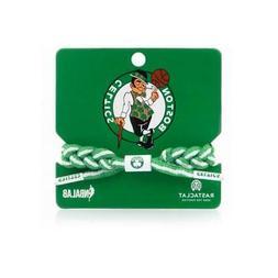 Boston Celtics Bracelet Braided Fashion Accessory Rastaclat