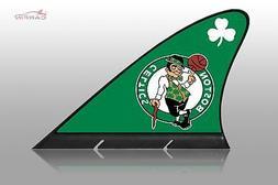 Boston Celtics Car Flag, CARFIN  Magnetic Car Flag.