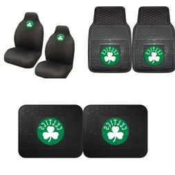 Boston Celtics Car Truck Front Rear Heavy Duty Floor Mats Se