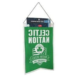 Boston Celtics Celtic Nation Wool Heritage Banner 14 x 22 in