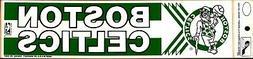 BOSTON CELTICS CLASSIC LOGO  ~ Licensed Bumper Sticker