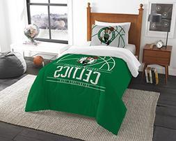 Boston Celtics Comforter Set Full Queen 3pc NBA Official Dra