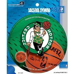 "Boston Celtics Decal 4"" Round Vinyl Auto Home Window Bumper"