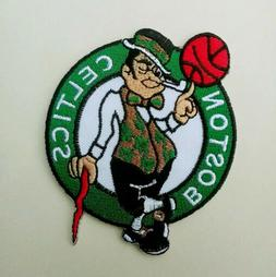 "Boston Celtics Embroidered 3.5"" Iron On Patch"