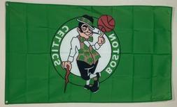 Boston Celtics Flag 3x5 ft Banner Man Cave Decor NBA Basketb