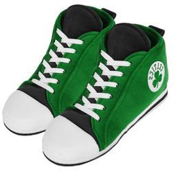 Boston Celtics High Top Sneaker SLIPPERS New - FREE U.S.A. S