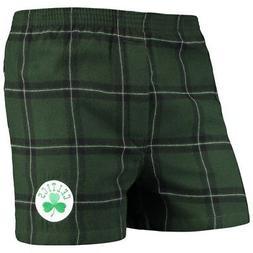 Boston Celtics Concepts Sport Homestretch Flannel Boxer Shor