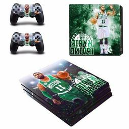 Boston Celtics Kyrie Irving PS4 Pro Console Skin Decals Viny