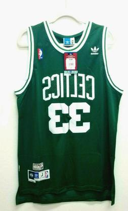 Boston Celtics Adidas LARGE 33 Larry Bird Hardwood Classics
