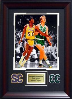Boston Celtics Larry Bird and LA Lakers Magic Johnson Spotli