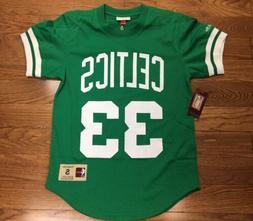 Boston Celtics Larry Bird Mitchell & Ness Crewneck Jersey