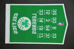 Boston Celtics Legends Banner Pennant 14 X 22