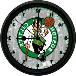 Boston Celtics LOGO, 8in. Unique Homemade Wall Clock, Batter