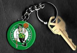 Boston Celtics Logo Green Keychain Key Chain NBA