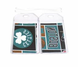 Boston Celtics Luggage Tags Set Of 2