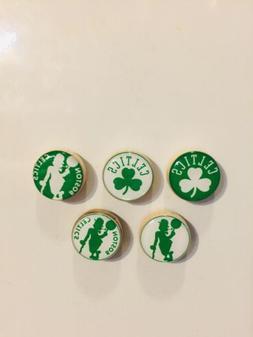Boston Celtics Magnets - Set Of 5 - FREE SHIPPING