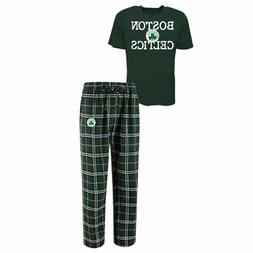 Boston Celtics Men's NBA Duo Shirt And Pants Pajama Sleepwea