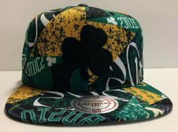 Boston Celtics Mitchell & Ness Snapback Hat Paysage Hardwood