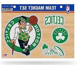 Boston Celtics Multi Die Cut Magnet Sheet Auto Home NBA Bask