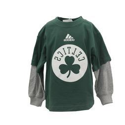 Boston Celtics NBA Adidas Apparel Infant Toddler Size Long S