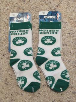 Boston Celtics NBA Basketball Little Kids Socks ~~2 Pairs~~